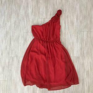 EUC like new one shoulder casual/formal dress